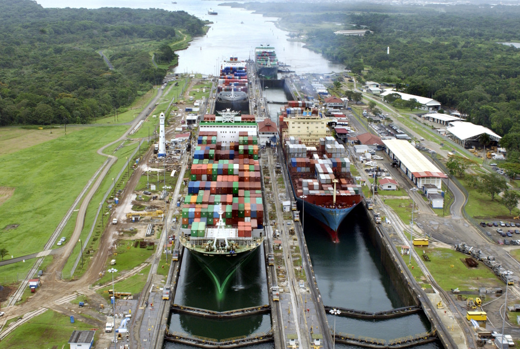 Canal de Panamá, Ciudad de Panamá. Foto ACP