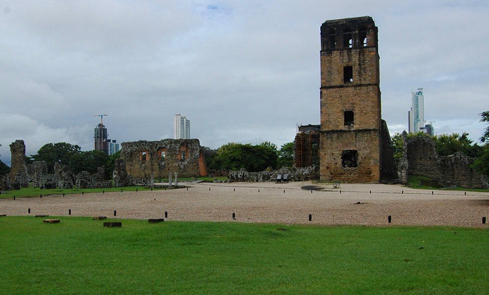 Panamá la Vieja fue fundada por Pedrarias Davila