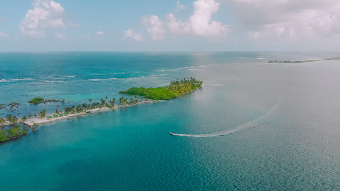 Archipiélago Guna Yala, en el Mar Caribe Panameño.